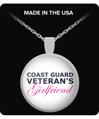 Coast Guard Veteran's Girlfriend - Necklace - Unique Gifts Store