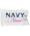 Navy Niece - Pillow Case - Unique Gifts Store
