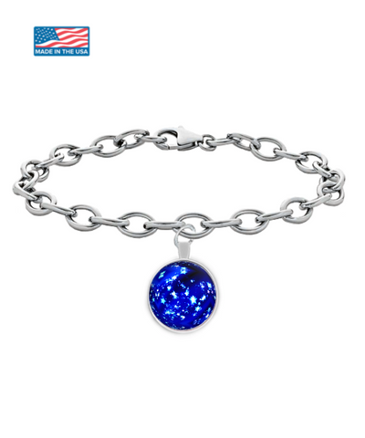Blue Christmas Ball - Bracelet - Unique Gifts Store