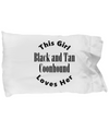 Black and Tan Coonhound v2c - Pillow Case