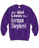 German Shepherd - Sweatshirt - Unique Gifts Store