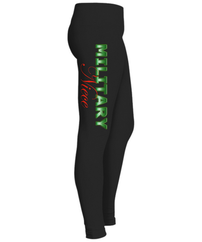 Military Niece - Leggings - Unique Gifts Store