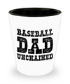 Baseball Dad - Shot Glass - Unique Gifts Store