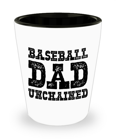 Baseball Dad - Shot Glass