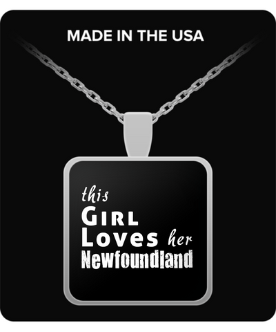 Newfoundland - Necklace - Unique Gifts Store