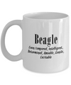 The Beagle - 11oz Mug - Unique Gifts Store