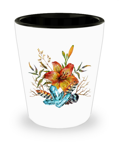 Tiger Lily Bouquet - Shot Glass