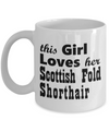 Scottish Fold Shorthair - 11oz Mug - Unique Gifts Store
