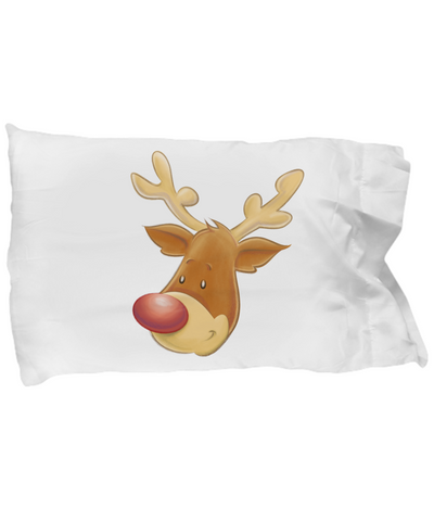 The Christmas Reindeer - Pillow Case - Unique Gifts Store
