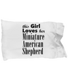 Miniature American Shepherd - Pillow Case - Unique Gifts Store