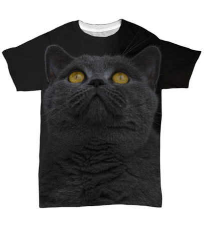 British Shorthair - All Over Print Tee - Unique Gifts Store