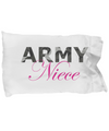 Army Niece - Pillow Case - Unique Gifts Store