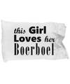 Boerboel - Pillow Case - Unique Gifts Store