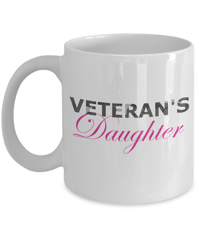 Veteran's Daughter - 11oz Mug - Unique Gifts Store