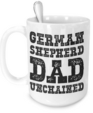 German Shepherd Dad - 15oz Mug - Unique Gifts Store