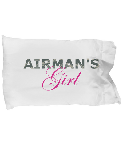 Airman's Girl - Pillow Case - Unique Gifts Store