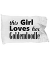 Goldendoodle - Pillow Case - Unique Gifts Store