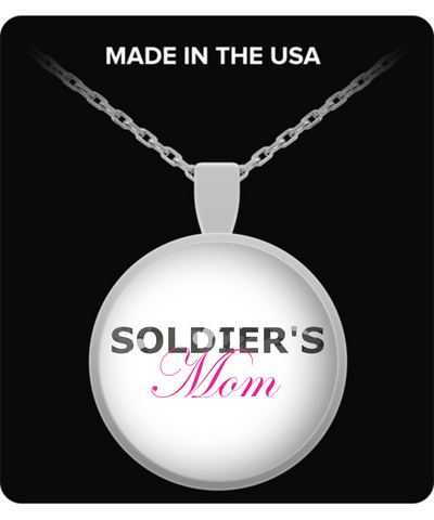 Soldier's Mom - Necklace - Unique Gifts Store