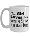Greater Swiss Mountain Dog - 15oz Mug