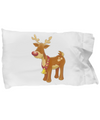Christmas Reindeer - Pillow Case - Unique Gifts Store