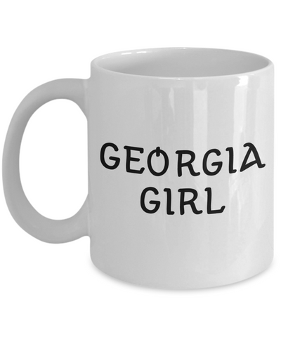 Georgia Girl - 11oz Mug - Unique Gifts Store