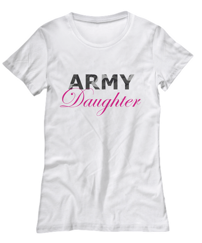 Army Daughter - Women's Tee - Unique Gifts Store