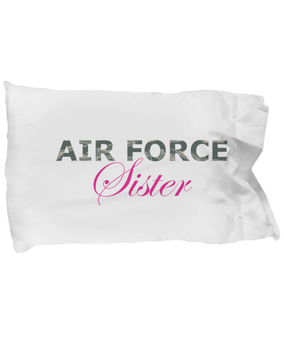 Air Force Sister - Pillow Case