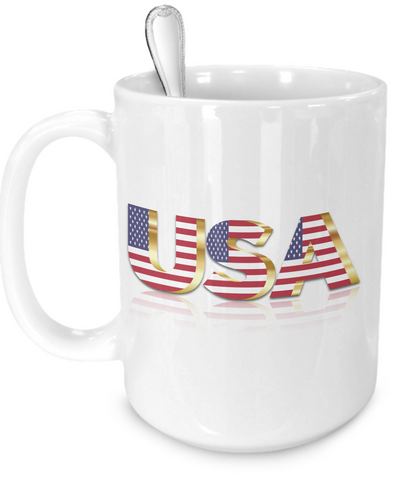 The USA - 15oz Mug - Unique Gifts Store