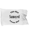 Samoyed v2c - Pillow Case