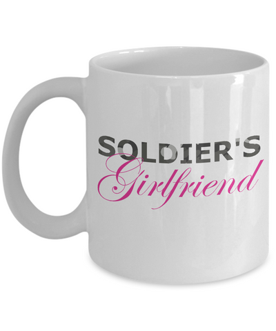 Soldier's Girlfriend - 11oz Mug - Unique Gifts Store