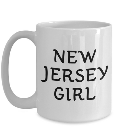 New Jersey Girl - 15oz Mug
