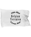 Belgian Tervuren v2c - Pillow Case