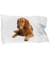 Golden Retriever v2 - Pillow Case - Unique Gifts Store