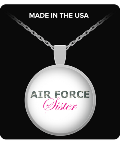 Air Force Sister - Necklace