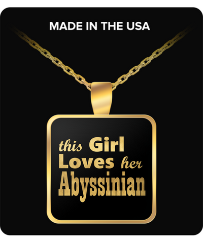 Abyssinian - Gold Plated Necklace - Unique Gifts Store