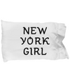 New York Girl - Pillow Case - Unique Gifts Store