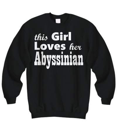 Abyssinian - Sweatshirt - Unique Gifts Store