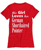 German Shorthaired Pointer-Women's Tee - Unique Gifts Store