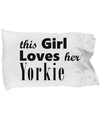 Yorkie - Pillow Case - Unique Gifts Store