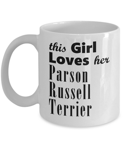 Parson Russell Terrier - 11oz Mug - Unique Gifts Store