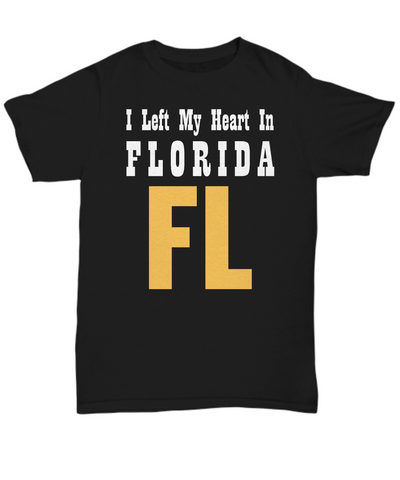 Heart In Florida - T-Shirt