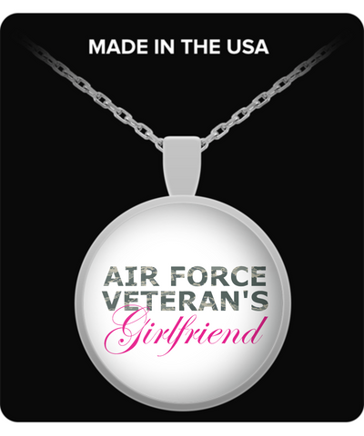 Air Force Veteran's Girlfriend - Necklace - Unique Gifts Store