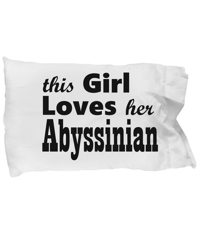 Abyssinian - Pillow Case - Unique Gifts Store