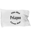 Pekapoo v2c - Pillow Case