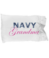 Navy Grandma - Pillow Case - Unique Gifts Store