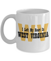 Heart In West Virginia - 11oz Mug