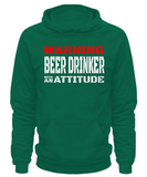 Warning: Beer Drinker - Hoodie - Unique Gifts Store
