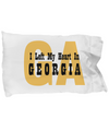 Heart In Georgia - Pillow Case