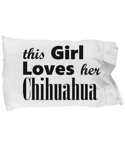 Chihuahua - Pillow Case - Unique Gifts Store