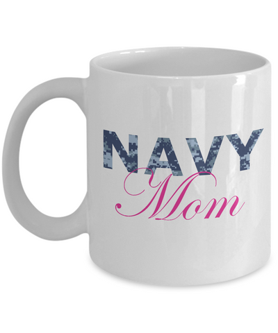Navy Mom - 11oz Mug - Unique Gifts Store